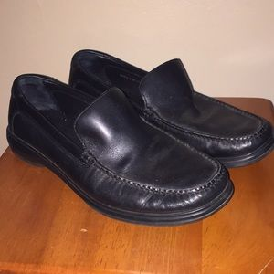 Cole Haan Black Leather Loafers Sz 9.5M